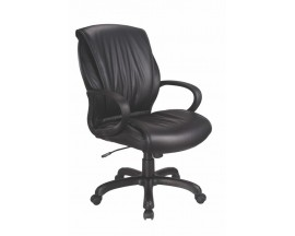 Model #10721 Lexus Mid Back Conference with Arms - IN STORE PRICE $210