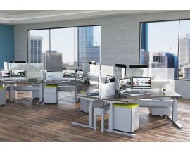 Clear Design BOOST Height-Adjustable Workstations