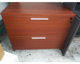 FLOOR MODEL LATERAL FILE - CHERRY