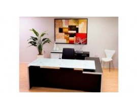 Executive Desk - Glass or Laminate surface