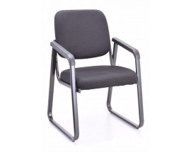 Model #2708 – Ashton Guest Chair Sled Base - In Store Price $ 120