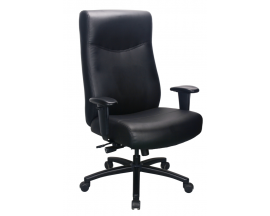 Performance - Model #54011 Big & Tall Leather Executive Tilter with Arms