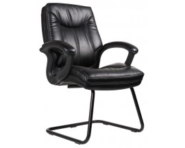 Model #7128 Whistler Side Chair with Contrast Stitching