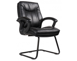 Performance Model #7128 Whistler Side Chair with Contrast Stitching