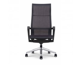 Bellezza High Profile Executive Mesh Chair - Chrome Base - In Store Price $ 380