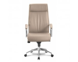 Alto High Back Executive Sand Leather* Chair - IN STORE PRICE $335