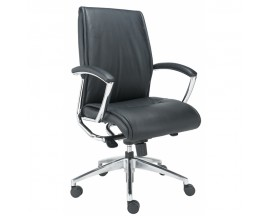 Alto Mid Back Executive Leather Chair - IN STORE PRICE $ 305