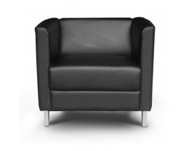 Cosmo Leather Lounge chair CD-129B-1