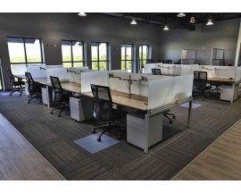 CLEAR DESIGN BLADE BENCHING - WORKSTATIONS / BENCHING STATIONS -14