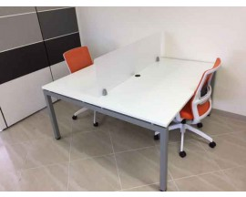 CLEAR DESIGN BLADE BENCHING - WORKSTATIONS / BENCHING STATIONS -15