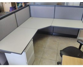 Preowned Gray Cubicles 3x3' or 6x6'