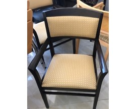 Pre Owned Espresso Side Chairs by National Office Furniture
