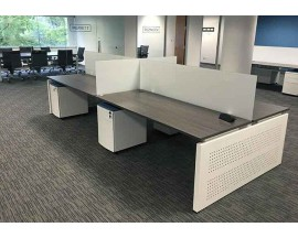 CLEAR DESIGN BLADE BENCHING - WORKSTATIONS / BENCHING STATIONS -16