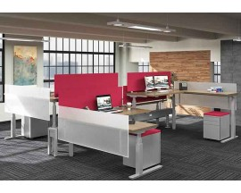 Clear Design - Boost Benching Height-Adjustable Workstations