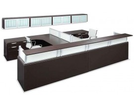 Office Sources Borders II Series Reception Desk - - Suite PLB#06