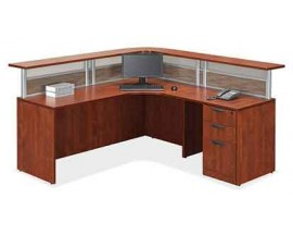 Office Sources Borders II Series Reception Desk -- Suite PLB#14