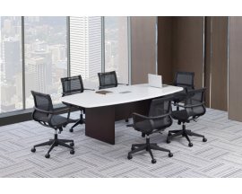PL Boat Shaped Conference Table