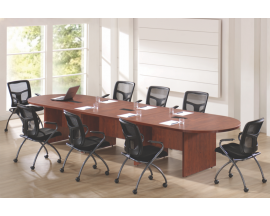 PL Oval (Racetrack) Shaped Conference Table