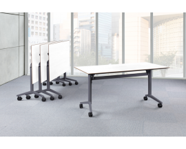 PL Bevel-Edge Flip Top Nesting Training Room Tables