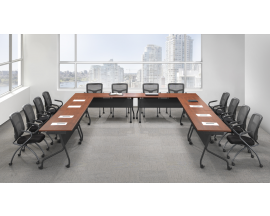 PL Budget Flip Top Nesting Training Room Tables