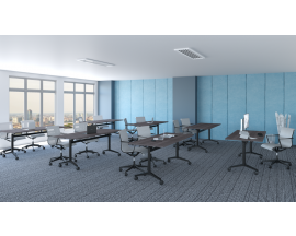 PL Flip Top Nesting Training Room Tables