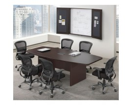 6' / 8' / 10' / 12 / 16 / 18' Laminate Boat Shape Conference table