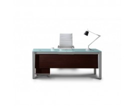 Sling series Rectangular Glass Desk